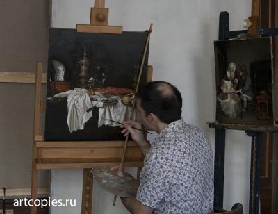 Художник М.М.Гареев