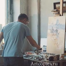 Ермолов Д.Н., мастерская художника.