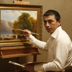 Гареев М.М. копии картин известных художников, купить живопись маслом на холсте.картина на заказ, натюрморт.