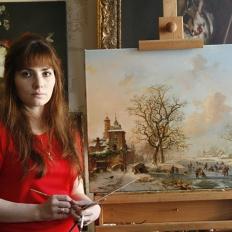 Иордан Е.Р. копии картин на холсте купить, картины известных художников на заказ, морской пейзаж, натюрморт.