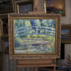 «Японский мостик» Клод Моне