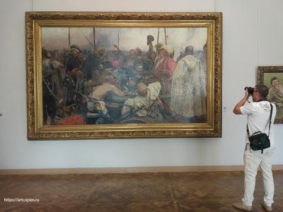 Картина в Государственном Русском музее.