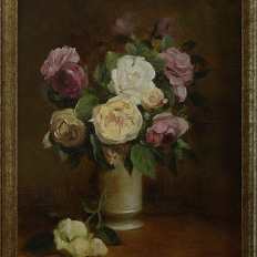 """Цветы в вазе"""