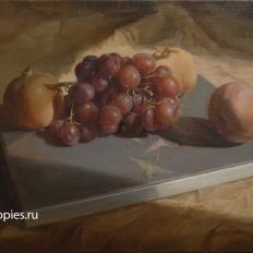 """""""Натюрморт с виноградом и гранатами"""""""