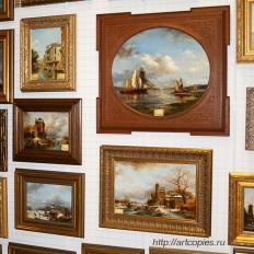картины в галерее Санкт-Петербурга