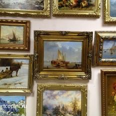 """Наши картины в галерее """"Контур""""( г.Санкт-Петербург)"""