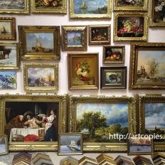 """Наши картины в галерее """"Контур"""""""