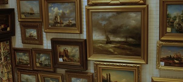 Авторская живопись и копии картин в галереях Санкт-Петербурга