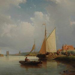 Johan Adolph Rust копии картин морских пейзажей