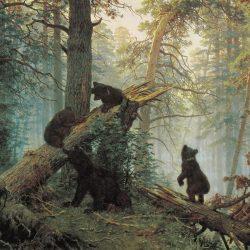 "И.Шишкин ""Утро в сосновом лесу"""