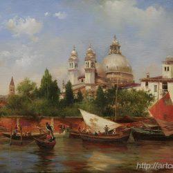 "Шумайлов Д.А. ""Виды Венеции. Собор Сан-Марко"""