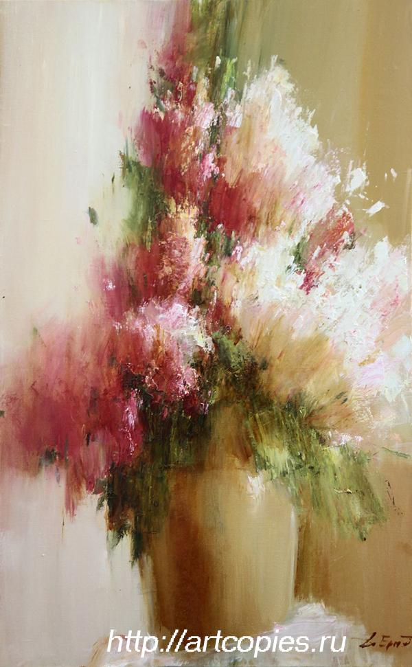 """Ермолов Д.Н. """"Цветы"""" живопись маслом картины современных художников"""