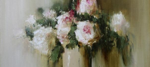 """Ермолов Д.Н. """"The Flowers"""" 60х80 см 2013г"""