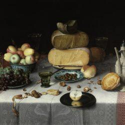 Флорис ван Дейк. «Натюрморт с сыром» Копии картин на заказ
