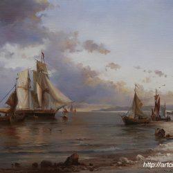 морские пейзажи картины художников