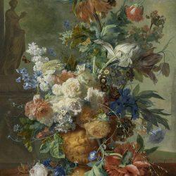 Ян ван Хёйсум. «Ваза с цветами» копии картин купить