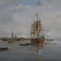 Виды Санкт-Петербурга холст, масло