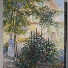 """Копия картины """"Камилла Моне в саду в Аржантёе"""""""