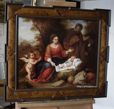 Копия картины «Отдых святого семейства на пути в Египет»