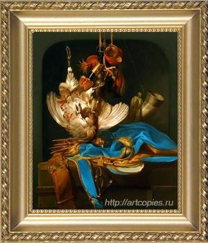 Шумайлов Д.А. Охотничий натюрморт. Купить картину в интернете.