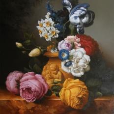 Цветочный натюрморт. Гареев М.М.