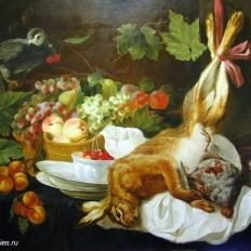 Натюрморт с битым зайцем. Гареев М.М.