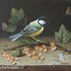 Гареев М.М. Натюрморт с птицей