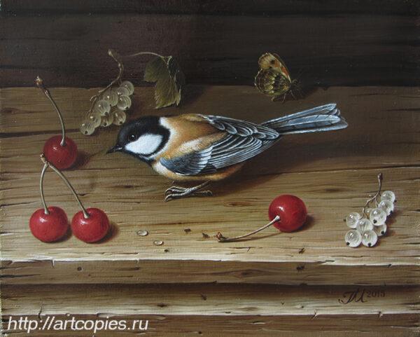 Гареев М.М. Птица и вишня.