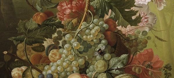 Гареев М.М. Натюрморт с фруктами и тыквой