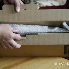 9-этап Упаковываем картину в картонную коробку