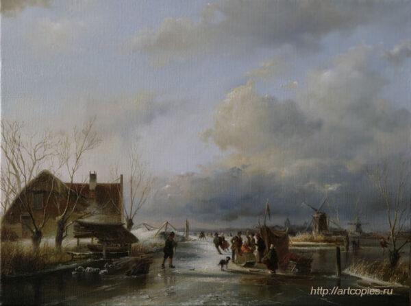 Зима. Голландский пейзаж. Шумайлов Д.А.