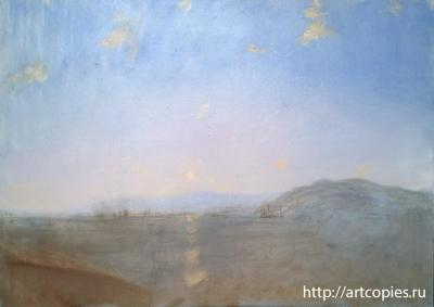 2-этап Копия картины И.К. Айвазовского «Керч»