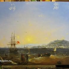 Копия картины И.К. Айвазовского «Керчь»