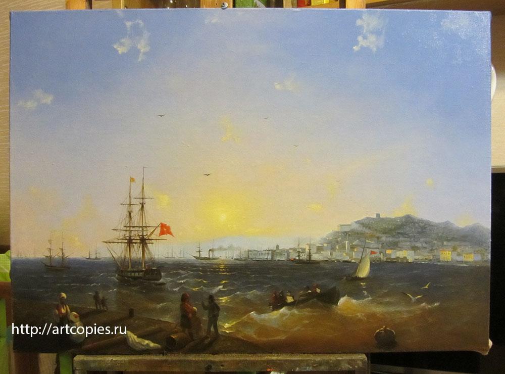 Копия картины И.К. Айвазовского «Керч»