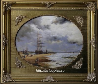 """""""Корабль у берега"""" Шумайлов Д.А."""