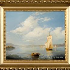 Копия картины И.Айвазовского «Полдень»
