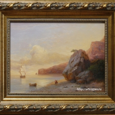 Копия картины И.Айвазовского «Берег»