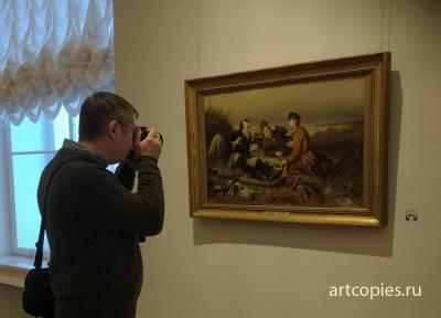 """""""Охотники на привале"""" Русский музей"""