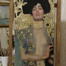 Копия картины «Юдифь и Олоферн» Густав Климт