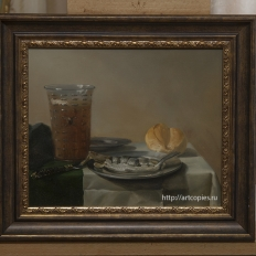 Копия картины «Натюрморт с селёдкой» П.Класс