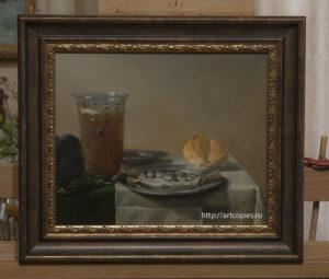 "Копия картины ""Натюрморт с селёдкой"" П.Класс"