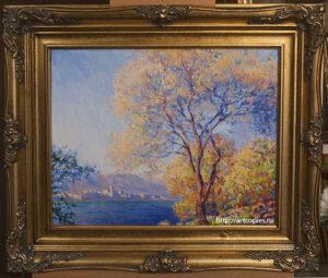 Копия картины К.Моне «Антиб, вид из садов Салис»