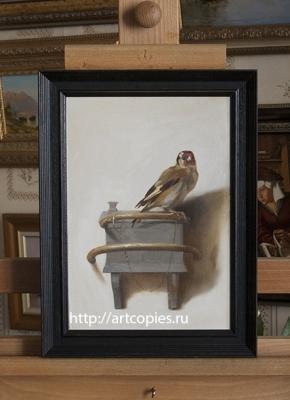 Копия картины «Щегол» Карел Фабрициус