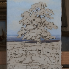 Копия картины «Среди долин» Шишкин И.И.