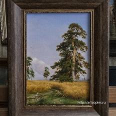 """Копия картины """"Рожь"""" И.Шишкин"""