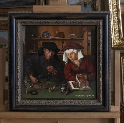 Копия Картины «Менялы и ростовщики» Q. Massys