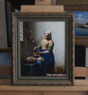 """Копия картины """"Молочница"""" Я.Вермеер"""