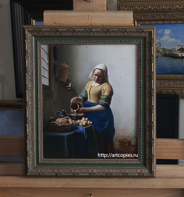 """Копия картины """"Молочница"""" Я. Вермеер"""