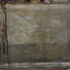"""Картина """"Лесной пейзаж"""", тыльная сторона до реставрации"""