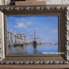 «Canal dela Giudecca, Veneza» Federico del Campo